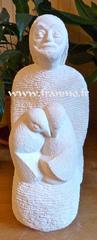 pierre: calcaire blanc